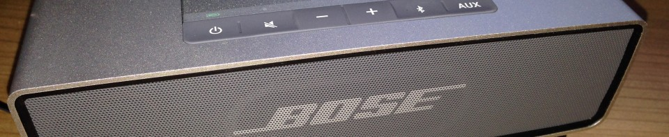 Satter Sound vom Smartphone mit dem Bose ® SoundLink ® Mini Bluetooth ® Speaker